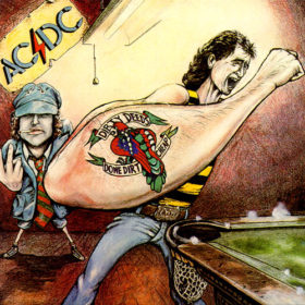 ACDC – Dirty Deeds Done Dirt Cheap – Versão Australiana (1976)