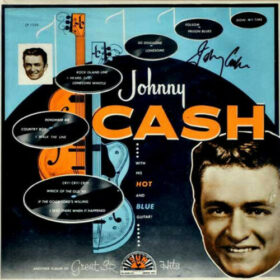 Johnny Cash – With His Hot and Blue Guitar (1957)