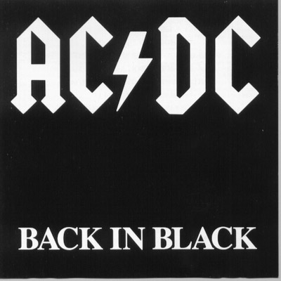 ACDC – Back in Black (1980)