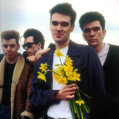 The Smiths с нарциссами