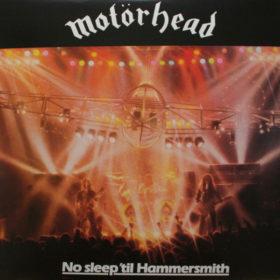 Motörhead – No Sleep 'til Hammersmith (1981)