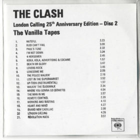 The Clash – The Vanilla Tapes (2004)