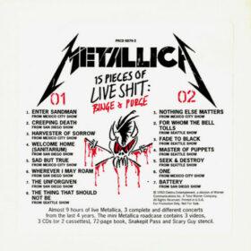 Metallica – Live Shit, Binge And Purge (1993)