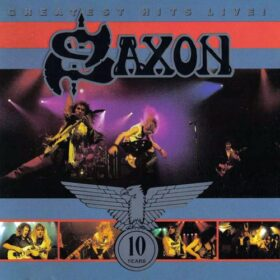 Saxon – Greatest Hits Live! (1990)
